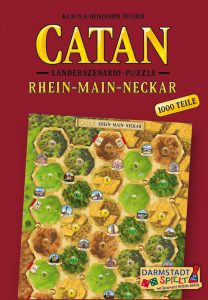 Catan Länderszenario-Puzzle Rhein-Main-Neckar